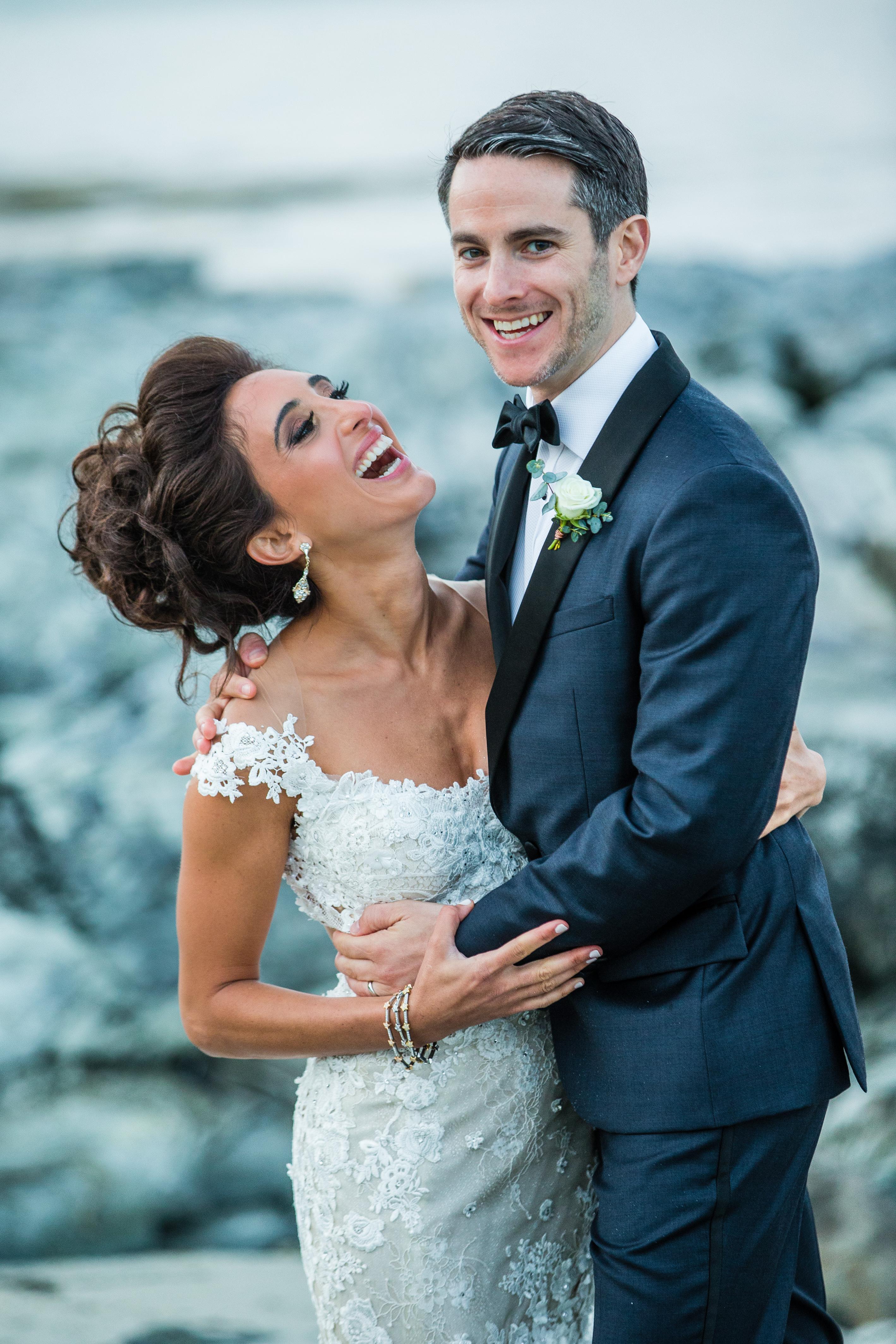 House Island wedding of Christi & Zak